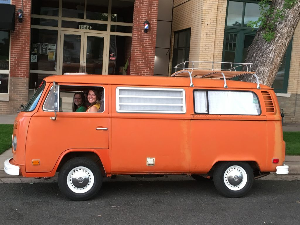VW Orange Bus Adventure
