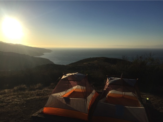 Camping on Santa Cruz Island of my favorite Channel Islands National Park