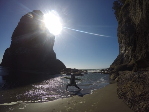 Second Beach in La Push of Olympic National Park