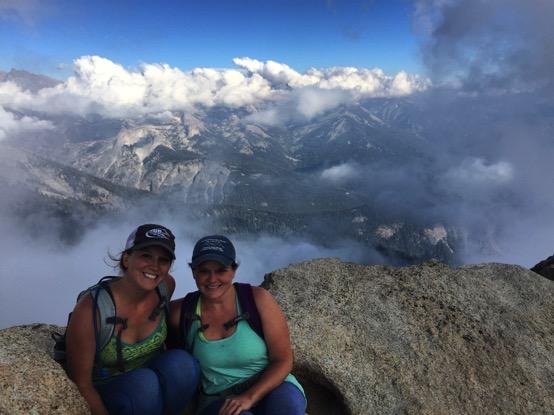 Alta Peak Cloudline in Sequoia National Park